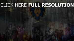 world of warcraft graffiti blason