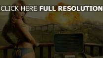 fallout 3 blond explosion nucléaire