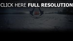 assassin's creed logo champ enneigé